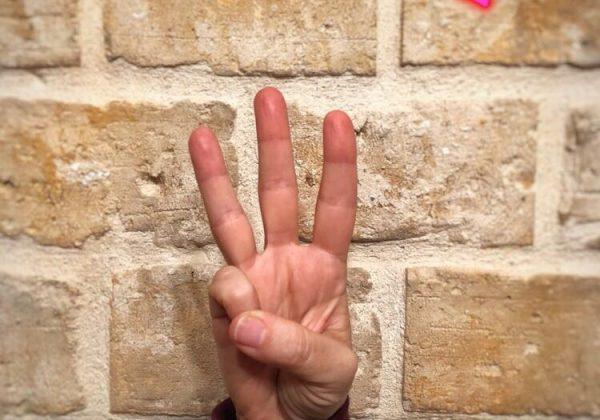 שלושה כללי אצבע